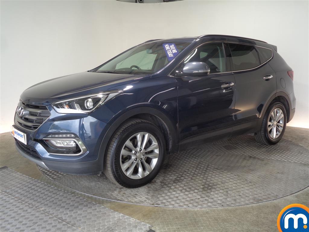 Hyundai Santa Fe Premium - Stock Number (1017232) - Passenger side front corner