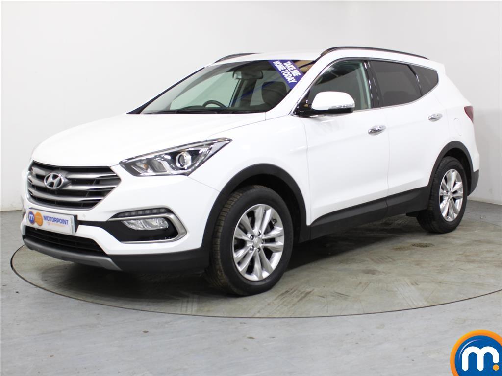 Hyundai Santa Fe Premium - Stock Number (1005371) - Passenger side front corner