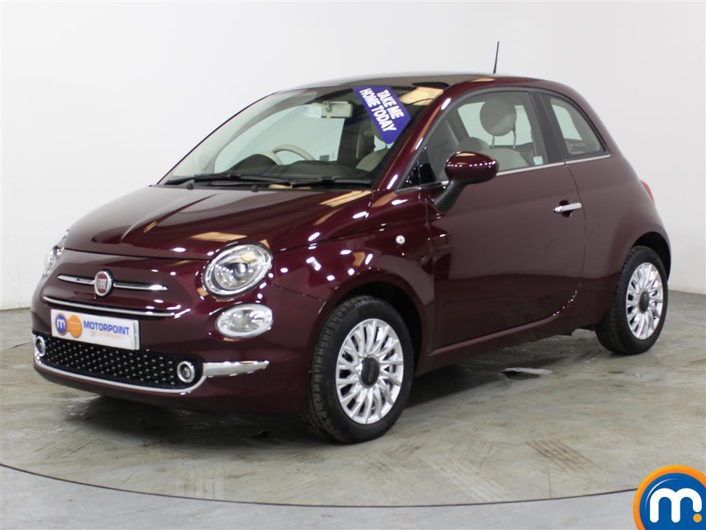 Fiat 500 Lounge Manual Petrol Hatchback - Stock Number (1012834) - Passenger side front corner