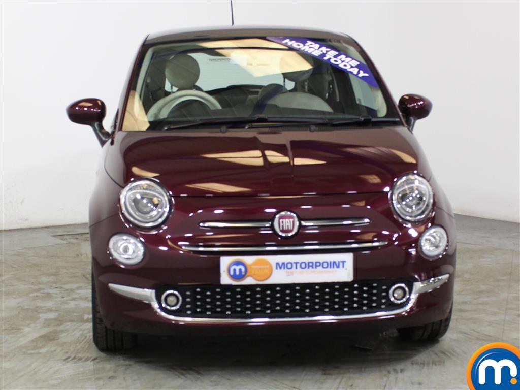 Fiat 500 Lounge Manual Petrol Hatchback - Stock Number (1012834) - Front bumper
