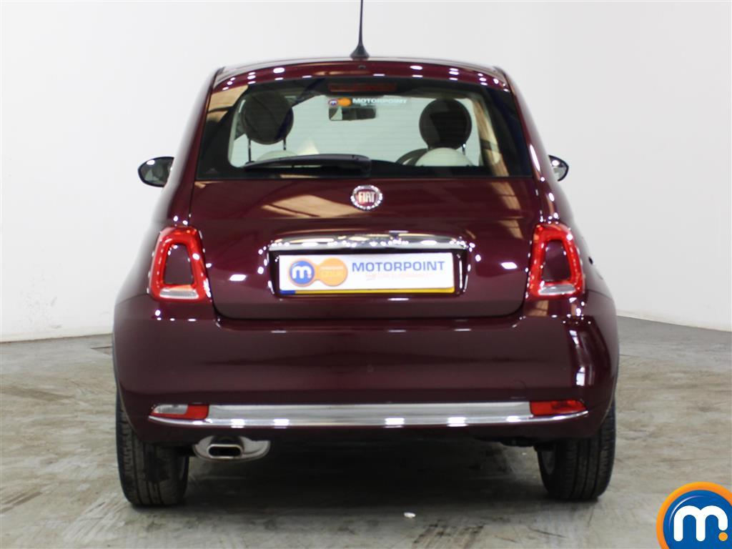 Fiat 500 Lounge Manual Petrol Hatchback - Stock Number (1012834) - Rear bumper