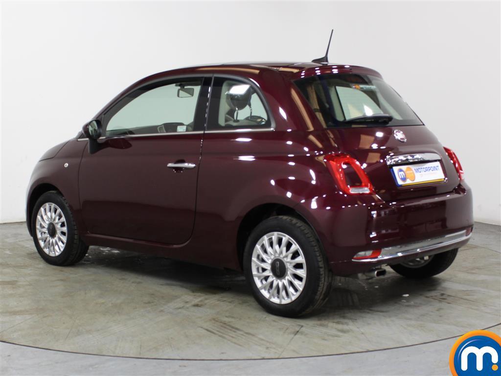 Fiat 500 Lounge Manual Petrol Hatchback - Stock Number (1012834) - Passenger side rear corner