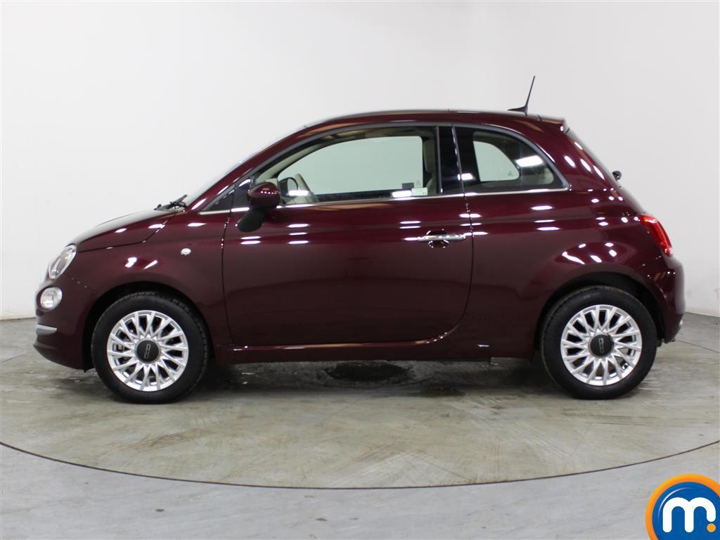 Fiat 500 Lounge Manual Petrol Hatchback - Stock Number (1012834) - Passenger side