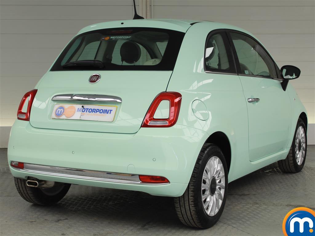 Fiat 500 Lounge Manual Petrol Hatchback - Stock Number (1015996) - Drivers side rear corner
