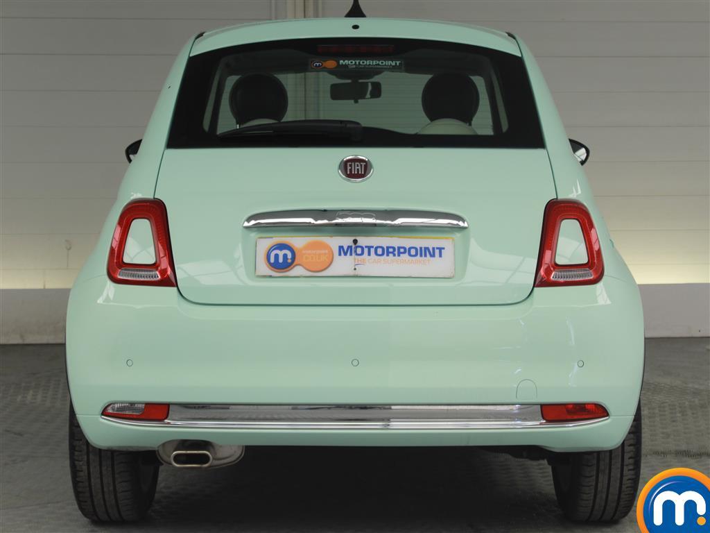 Fiat 500 Lounge Manual Petrol Hatchback - Stock Number (1015996) - Rear bumper