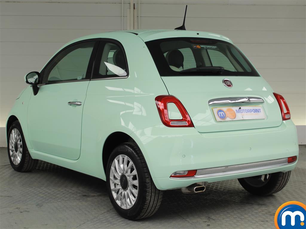 Fiat 500 Lounge Manual Petrol Hatchback - Stock Number (1015996) - Passenger side rear corner