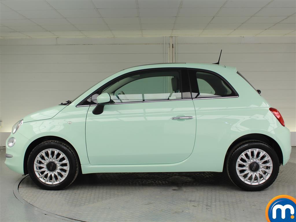 Fiat 500 Lounge Manual Petrol Hatchback - Stock Number (1015996) - Passenger side