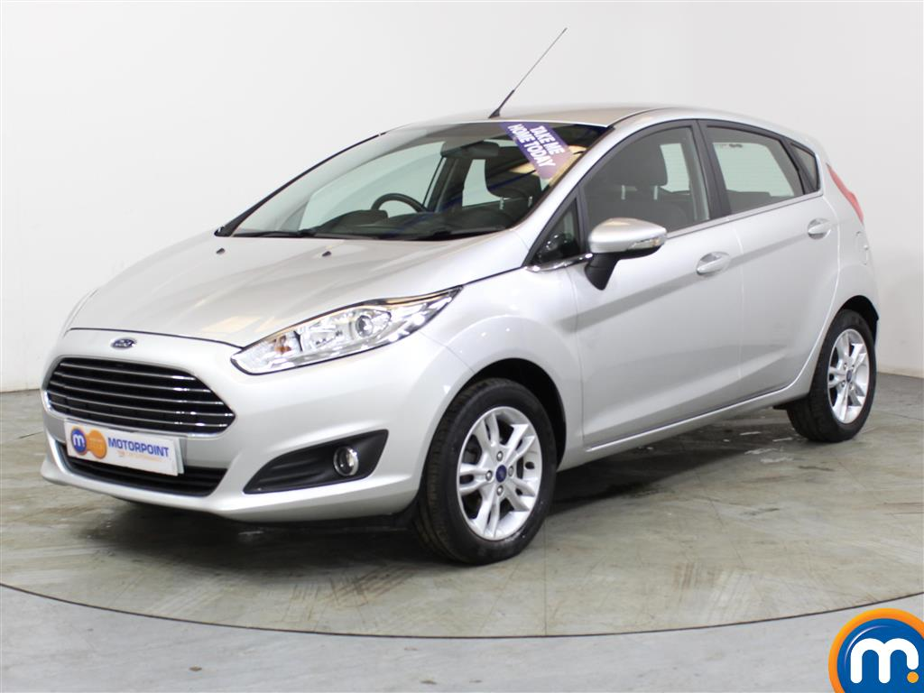Ford Fiesta Zetec - Stock Number (1025450) - Passenger side front corner