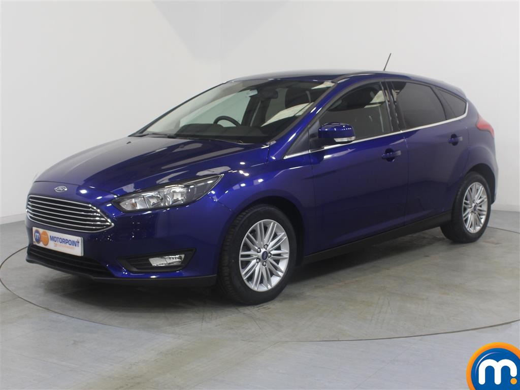 Ford Focus Zetec Edition - Stock Number (1018155) - Passenger side front corner
