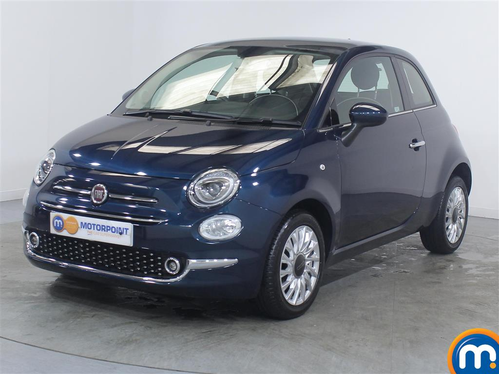 Fiat 500 Lounge - Stock Number (1016086) - Passenger side front corner