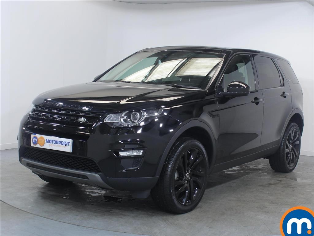 Land Rover Discovery Sport HSE Black - Stock Number (1019348) - Passenger side front corner