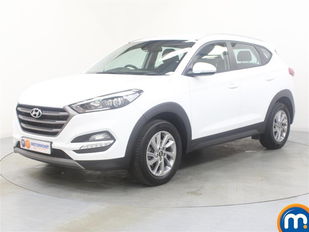 Hyundai Tucson SE - Stock Number (1024684) - Passenger side front corner