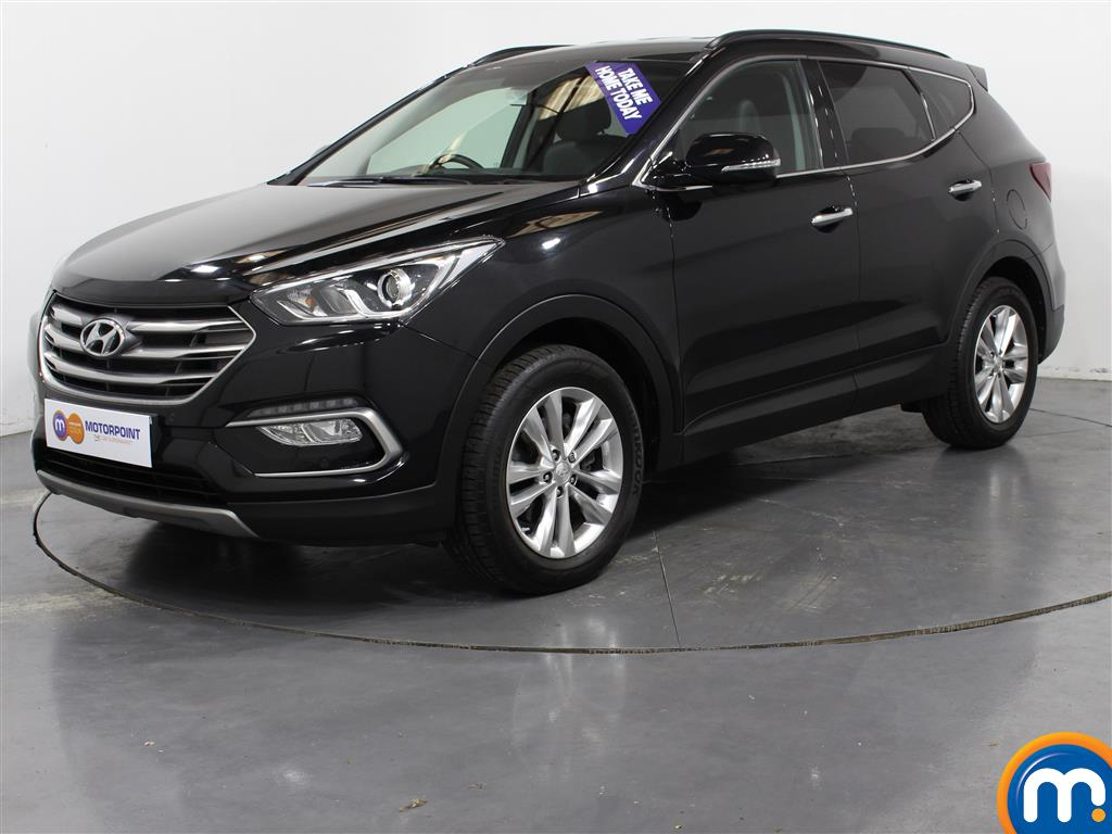 Hyundai Santa Fe Premium - Stock Number (1005741) - Passenger side front corner