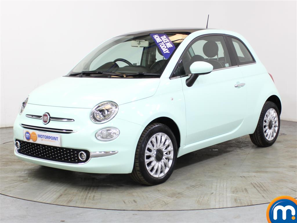 Fiat 500 Lounge - Stock Number (1024424) - Passenger side front corner