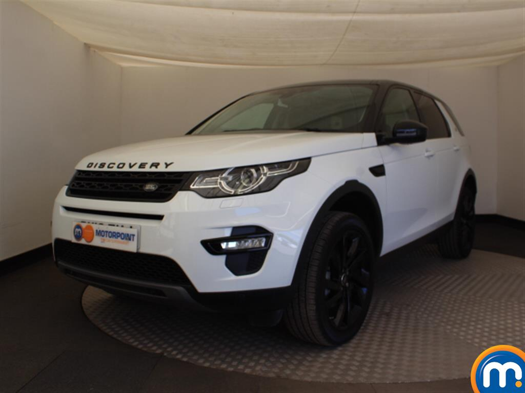 Land Rover Discovery Sport HSE Black - Stock Number (1024671) - Passenger side front corner