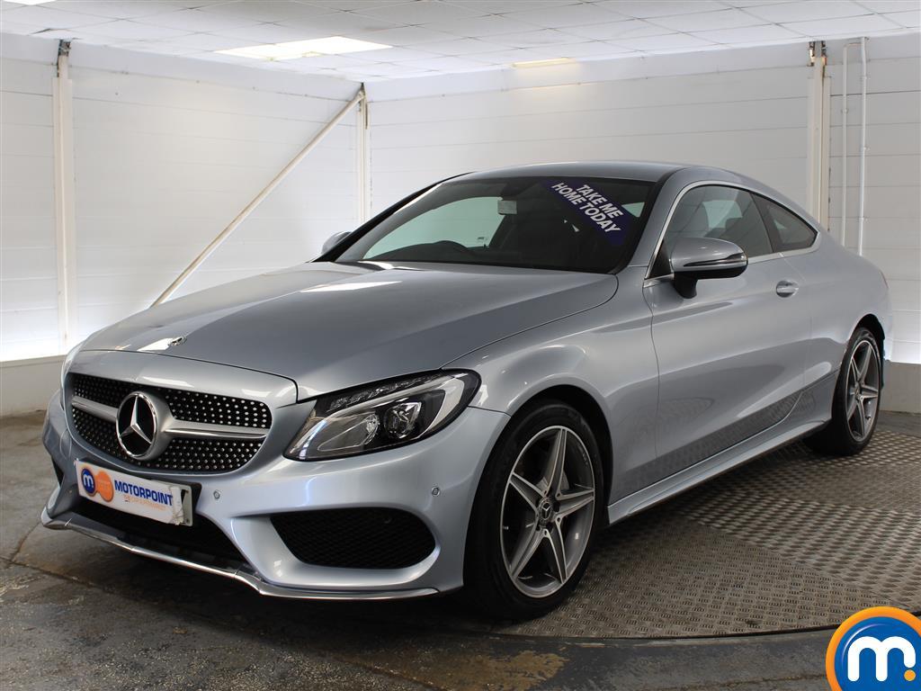 Mercedes-Benz C Class AMG Line - Stock Number (1024075) - Passenger side front corner