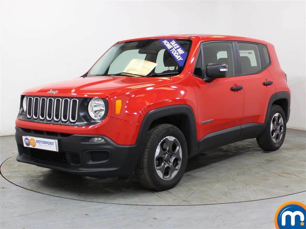 Jeep Renegade Sport - Stock Number (1022043) - Passenger side front corner