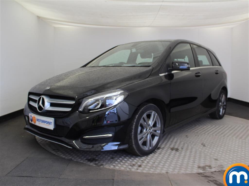 Mercedes-Benz B Class Exclusive Edition - Stock Number (1021022) - Passenger side front corner