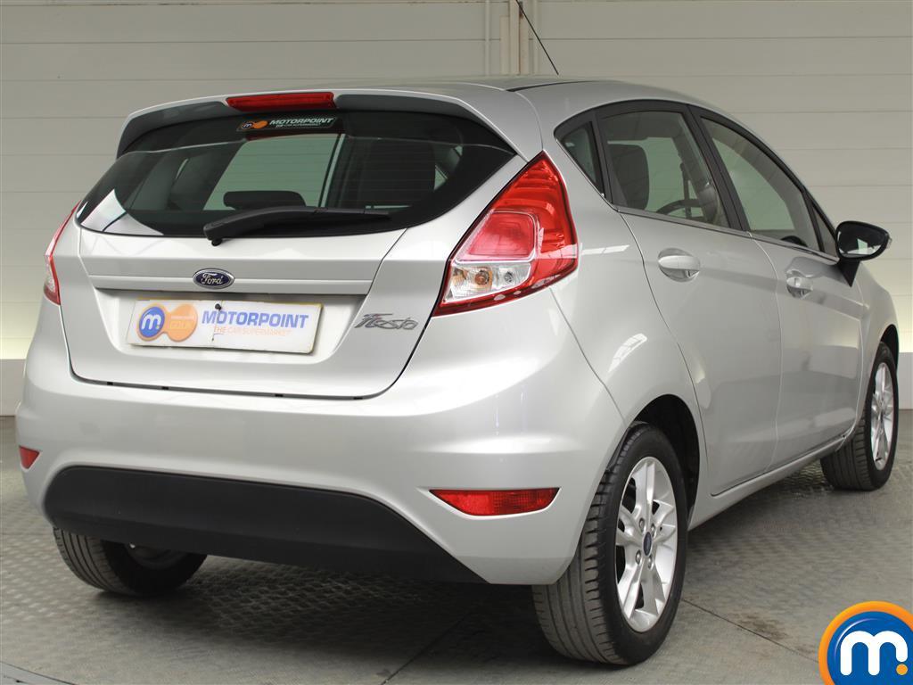 Ford Fiesta Zetec Manual Petrol Hatchback - Stock Number (1019280) - Drivers side rear corner