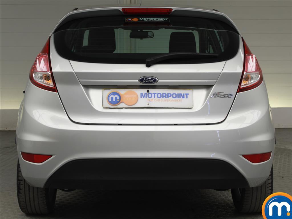 Ford Fiesta Zetec Manual Petrol Hatchback - Stock Number (1019280) - Rear bumper