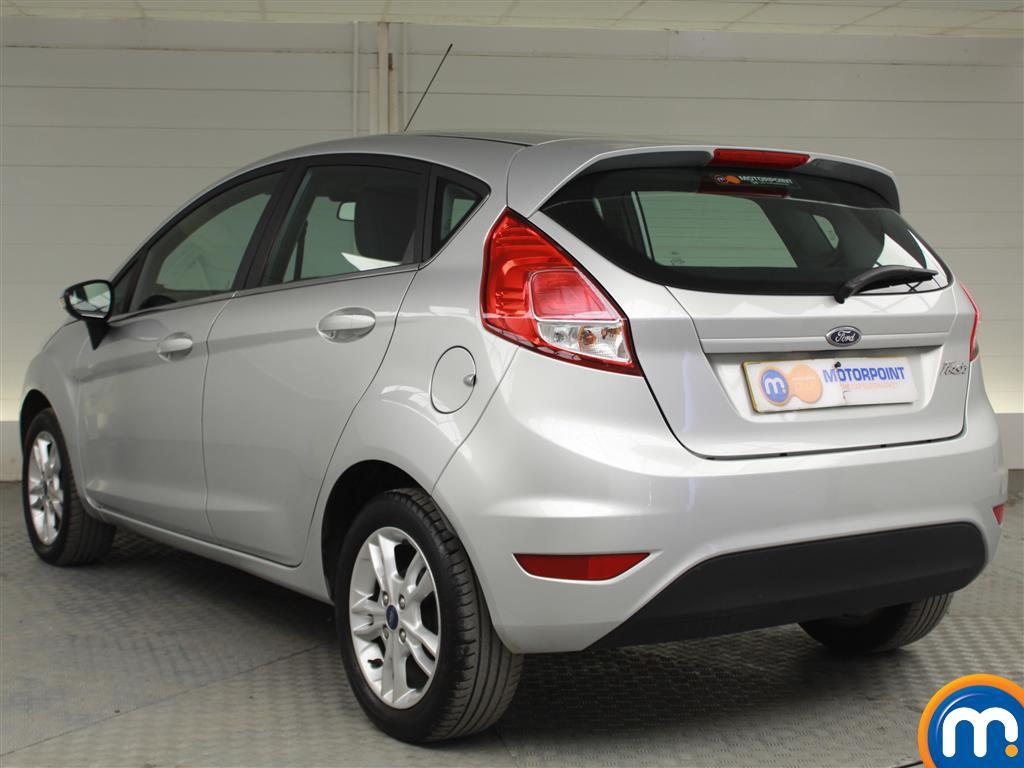 Ford Fiesta Zetec Manual Petrol Hatchback - Stock Number (1019280) - Passenger side rear corner