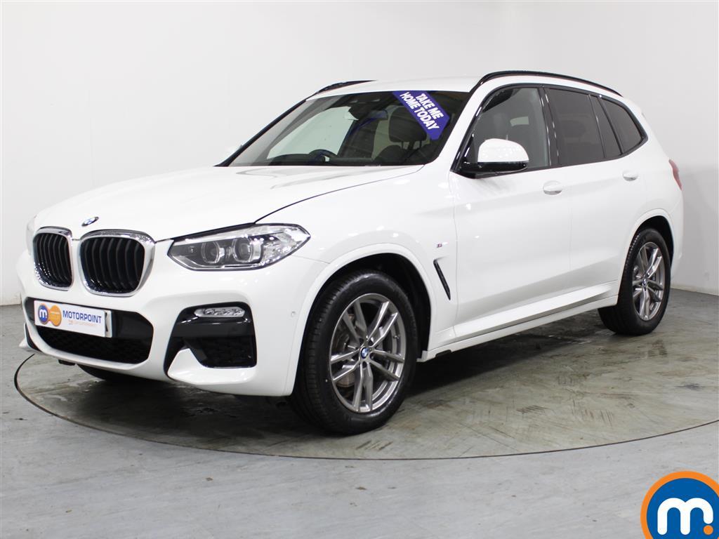 BMW X3 M Sport - Stock Number (1015384) - Passenger side front corner