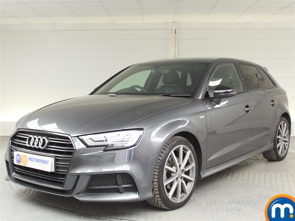 Audi A3 Black Edition - Stock Number (1011907) - Passenger side front corner