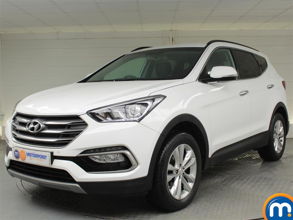 Hyundai Santa Fe Premium - Stock Number (1017225) - Passenger side front corner
