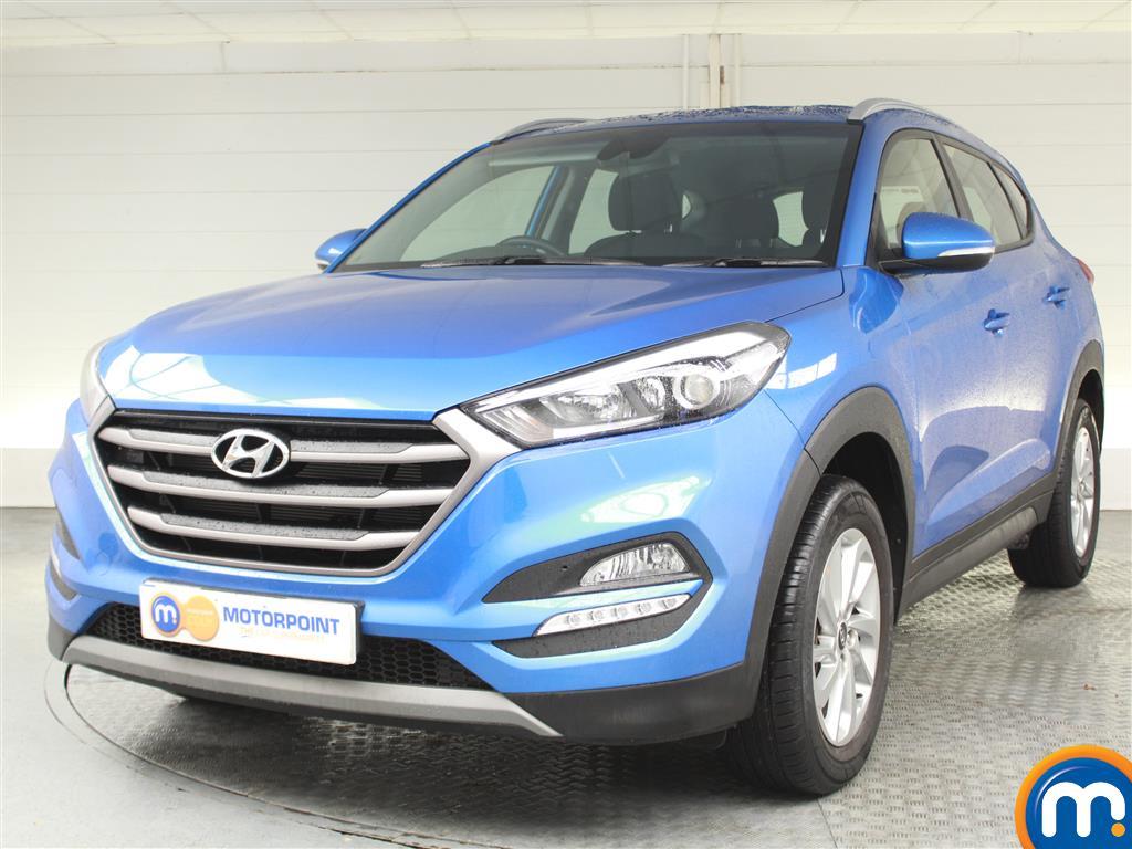 Hyundai Tucson SE - Stock Number (1021972) - Passenger side front corner