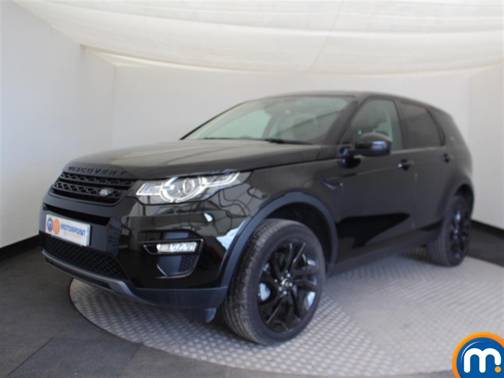 Land Rover Discovery Sport HSE Black - Stock Number (1027194) - Passenger side front corner