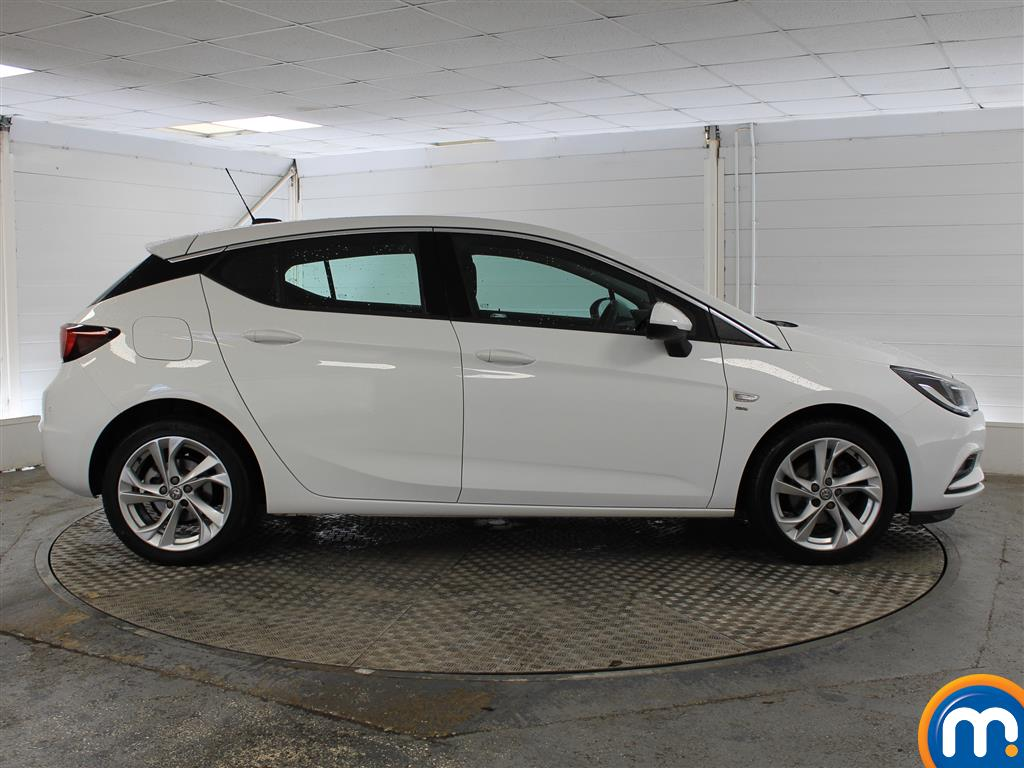 Vauxhall Astra SRI Manual Petrol Hatchback - Stock Number (1025582) - Drivers side