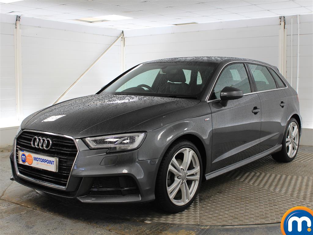 Audi A3 S Line - Stock Number (1024476) - Passenger side front corner