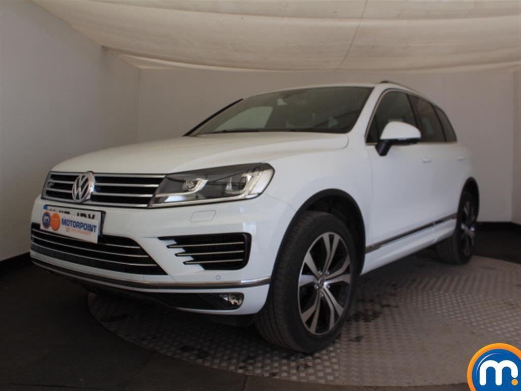 Volkswagen Touareg R Line - Stock Number (1024254) - Passenger side front corner