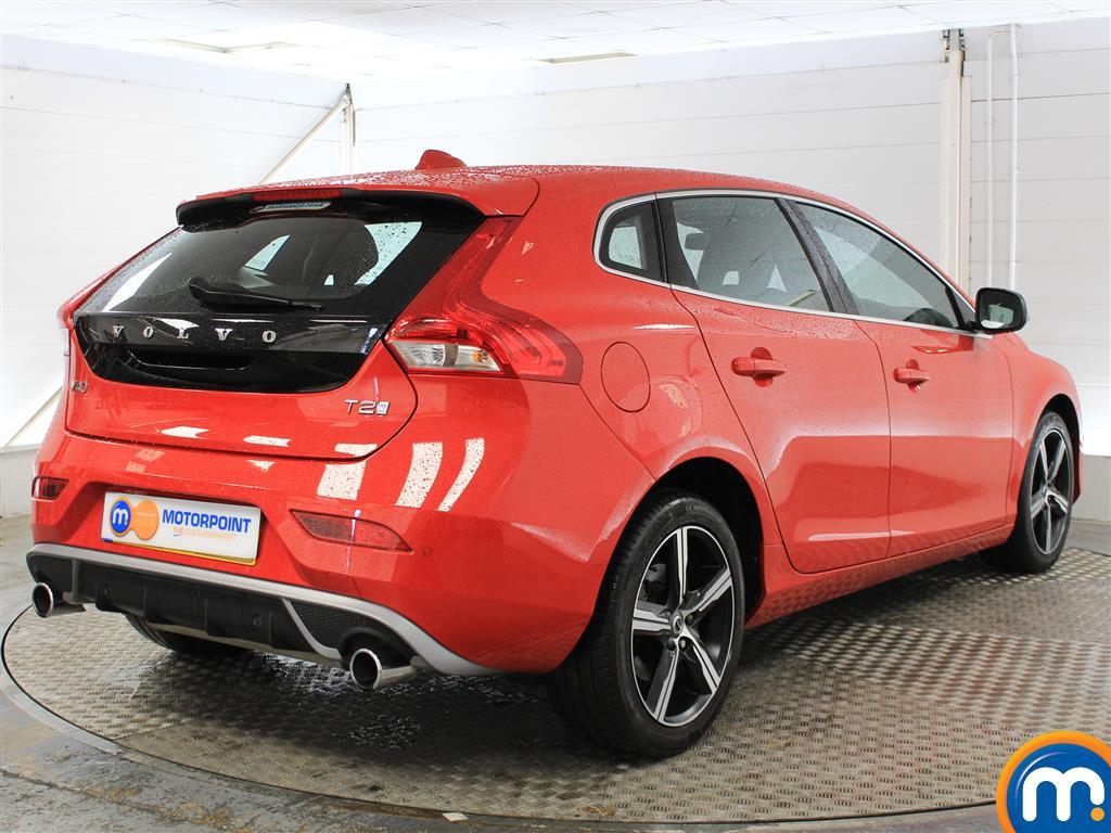 Volvo V40 R Design Nav Plus Manual Petrol Hatchback - Stock Number (1021782) - Drivers side rear corner
