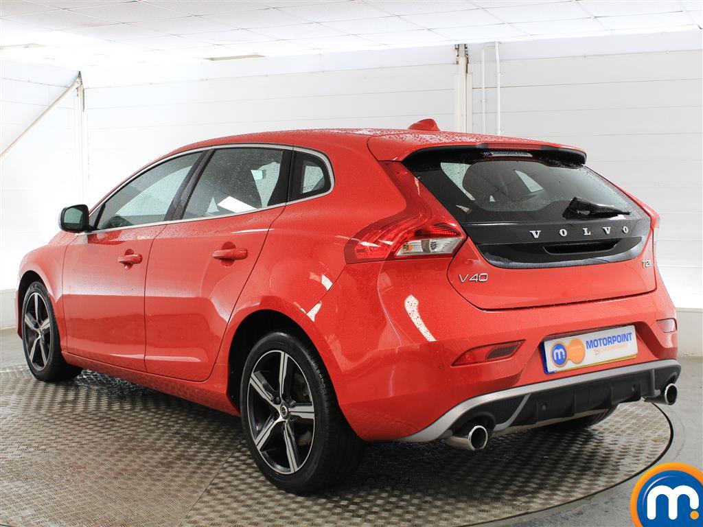 Volvo V40 R Design Nav Plus Manual Petrol Hatchback - Stock Number (1021782) - Passenger side rear corner