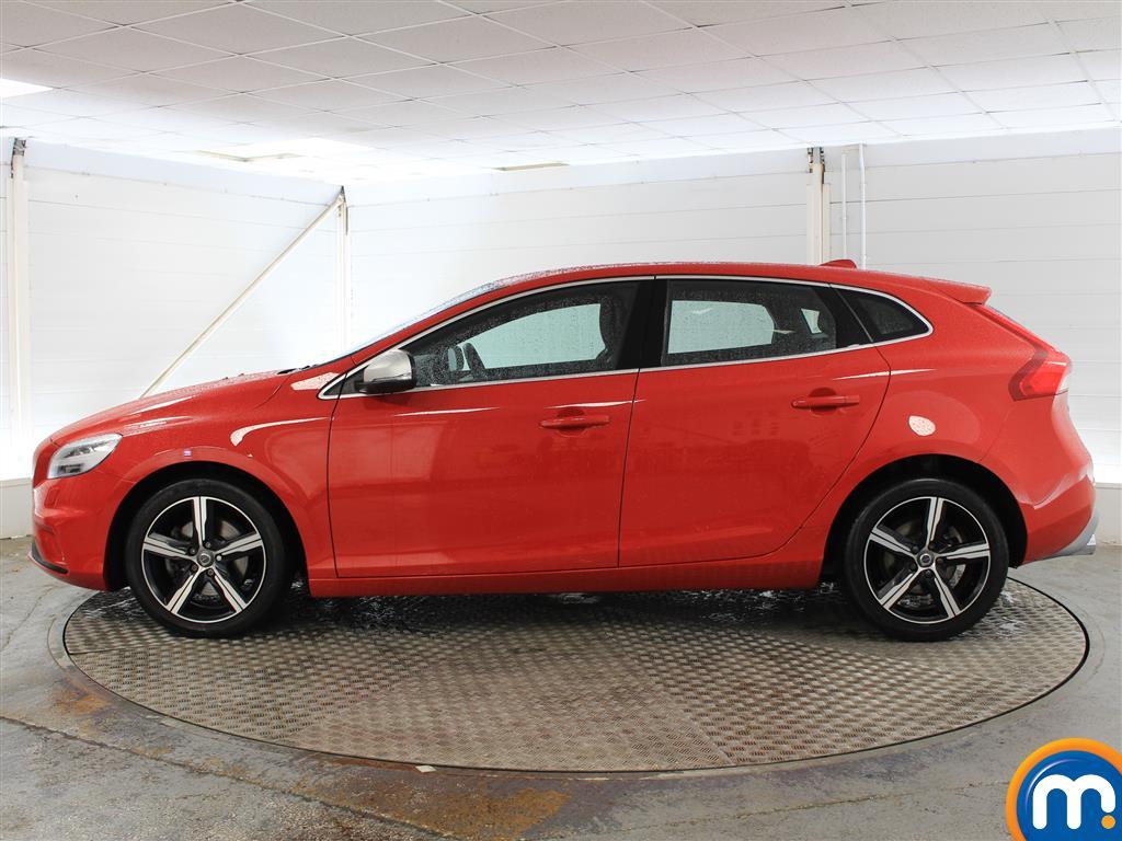 Volvo V40 R Design Nav Plus Manual Petrol Hatchback - Stock Number (1021782) - Passenger side