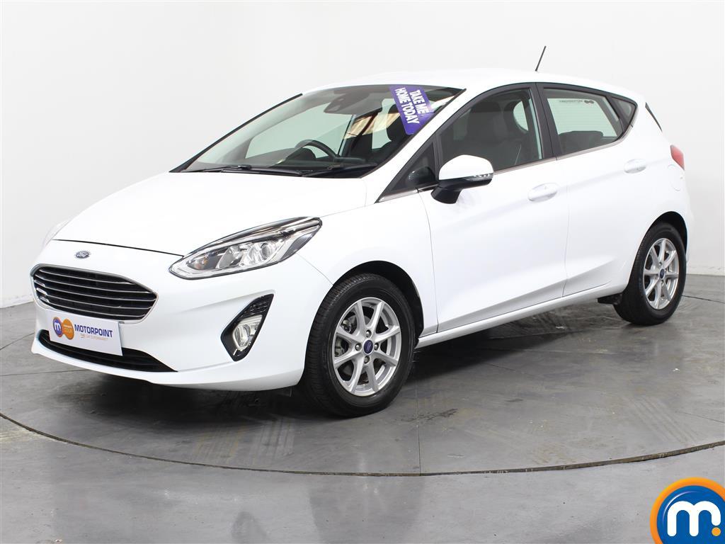 Ford Fiesta Zetec - Stock Number (1020401) - Passenger side front corner