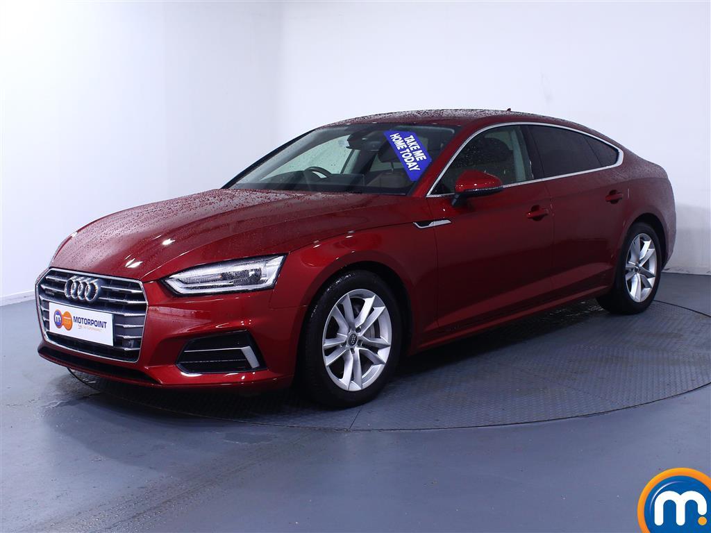 Audi A5 Sport - Stock Number (1027038) - Passenger side front corner