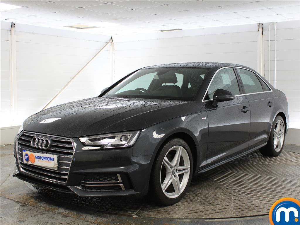 Audi A4 S Line - Stock Number (1023841) - Passenger side front corner