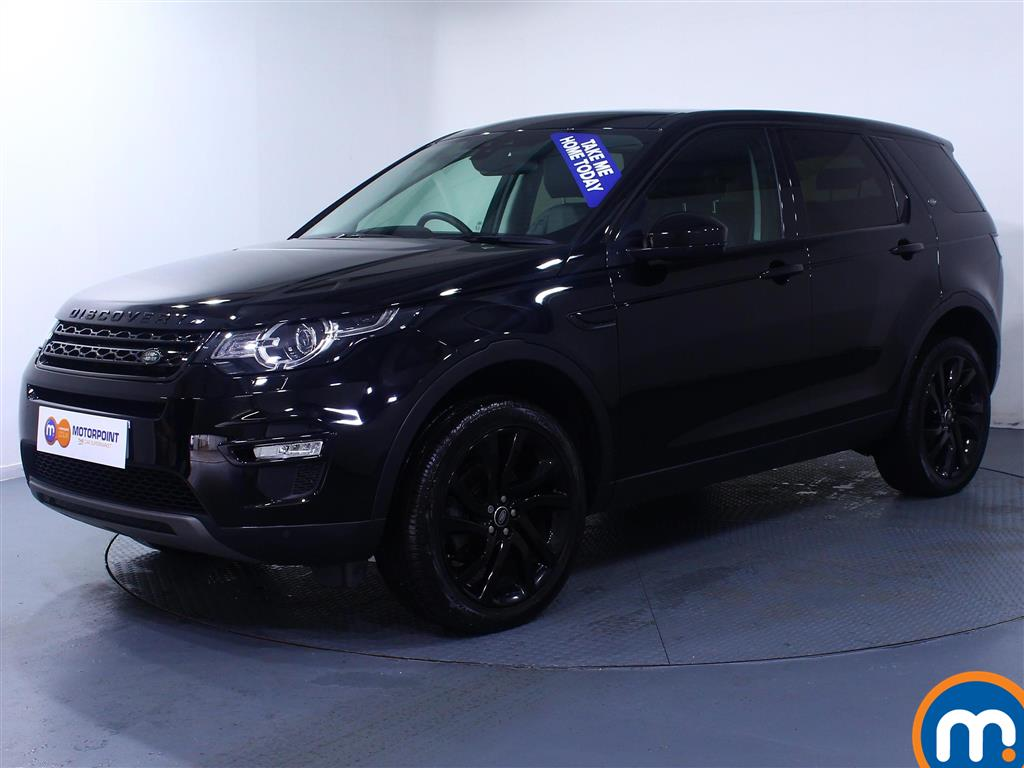 Land Rover Discovery Sport HSE Black - Stock Number (1026878) - Passenger side front corner