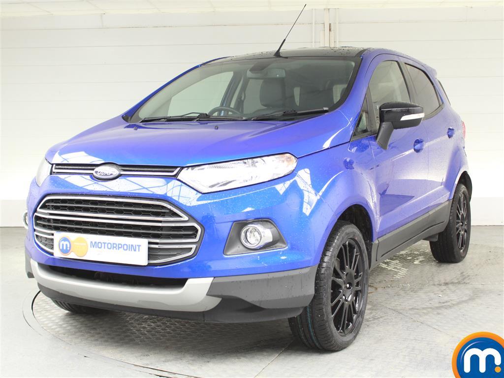 Ford Ecosport Titanium S - Stock Number (1018623) - Passenger side front corner