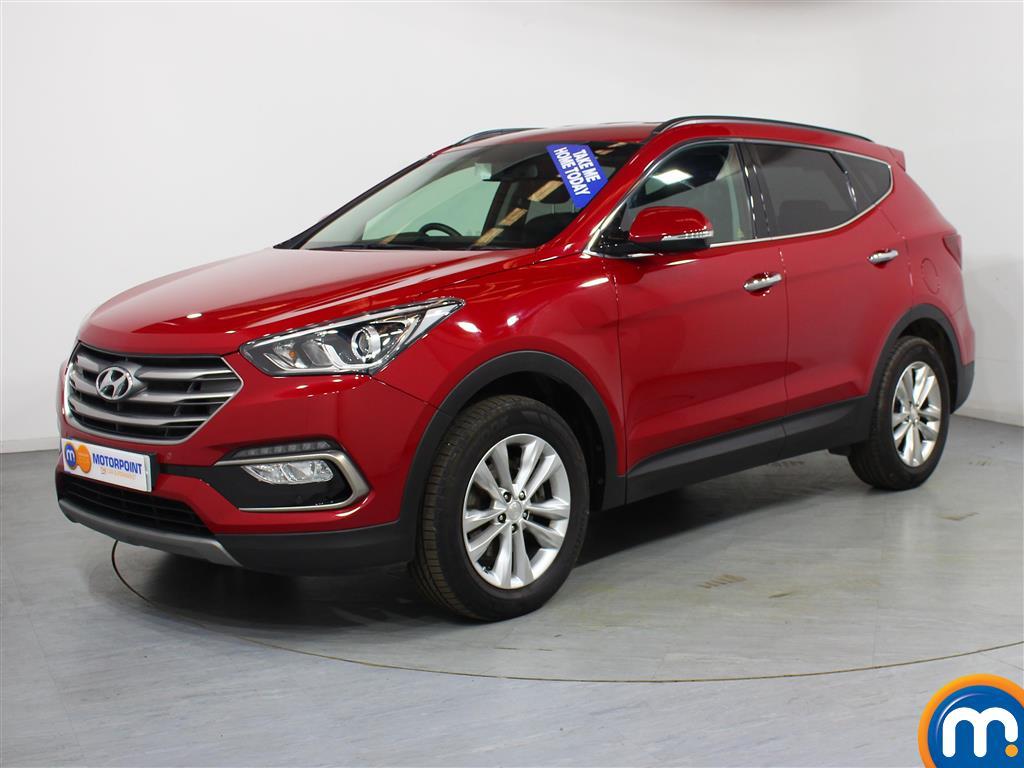 Hyundai Santa Fe Premium - Stock Number (1025948) - Passenger side front corner
