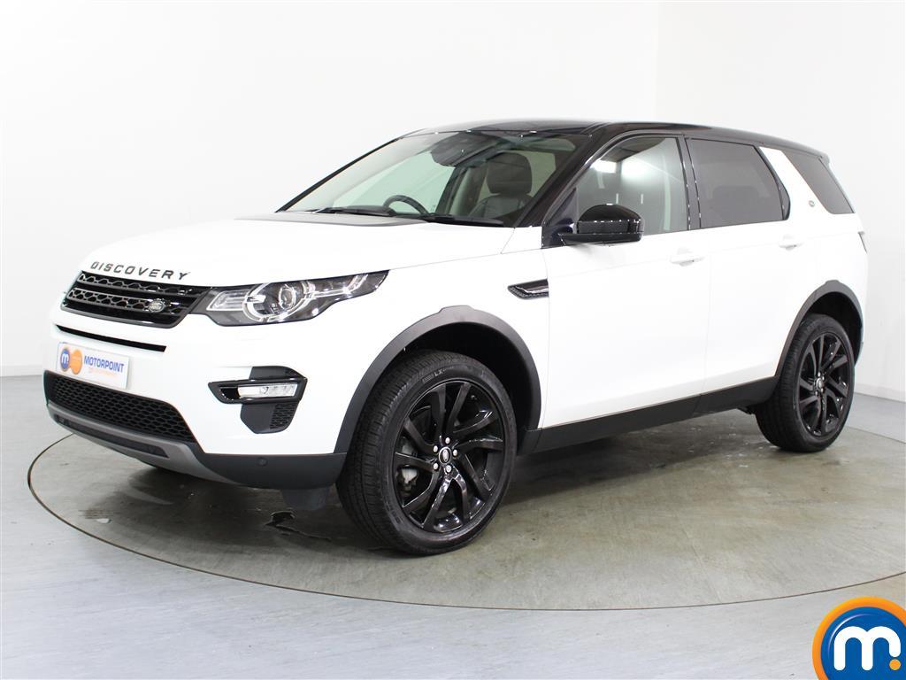 Land Rover Discovery Sport HSE Black - Stock Number (1007357) - Passenger side front corner