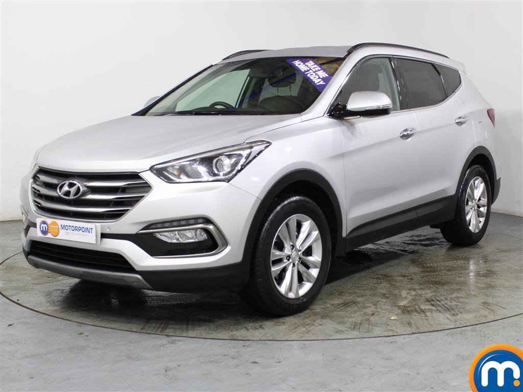 Hyundai Santa Fe Premium - Stock Number (1007019) - Passenger side front corner