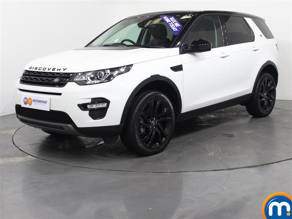 Land Rover Discovery Sport HSE Black - Stock Number (1026526) - Passenger side front corner