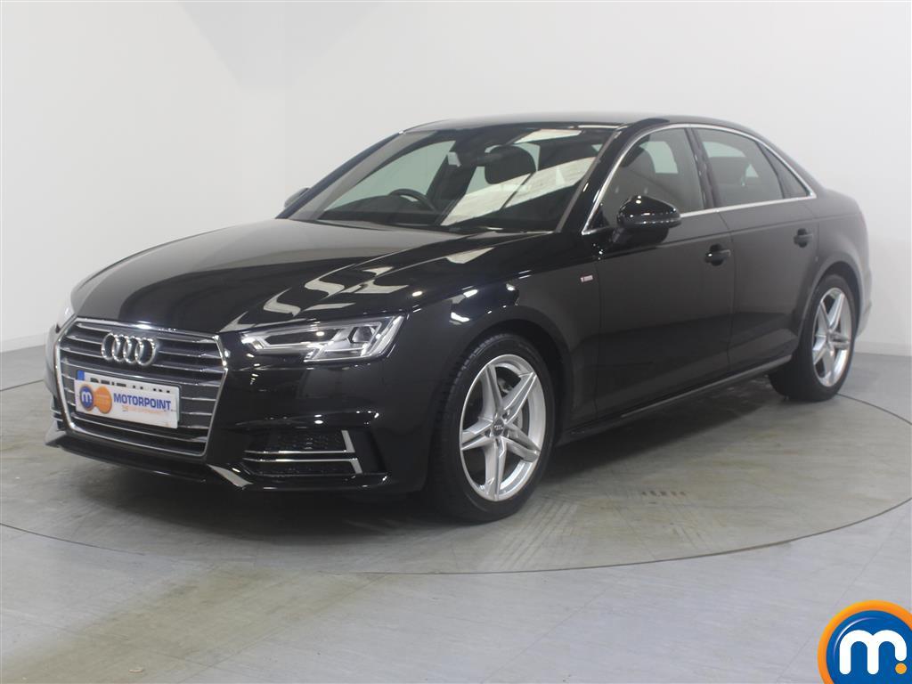 Audi A4 S Line - Stock Number (1024709) - Passenger side front corner