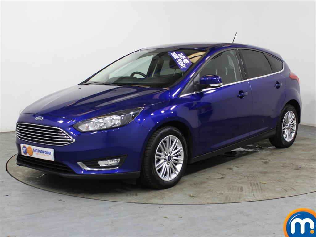 Ford Focus Zetec Edition - Stock Number 1024410 Passenger side front corner