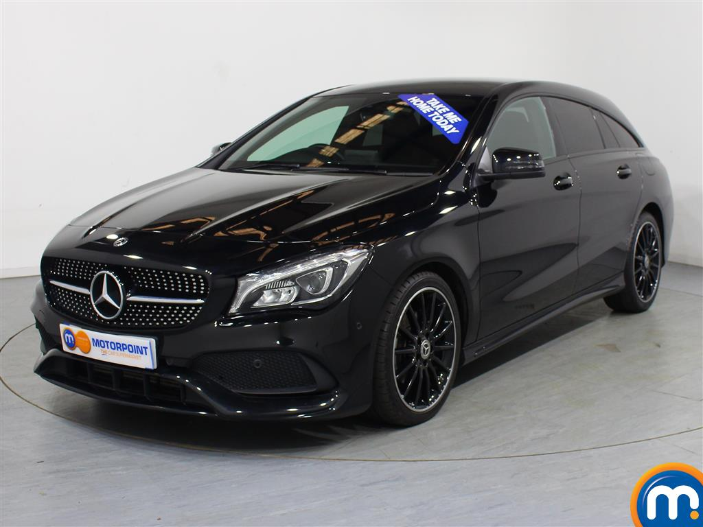 Mercedes-Benz Cla Class AMG Line Night Edtion Plus - Stock Number (1009465) - Passenger side front corner