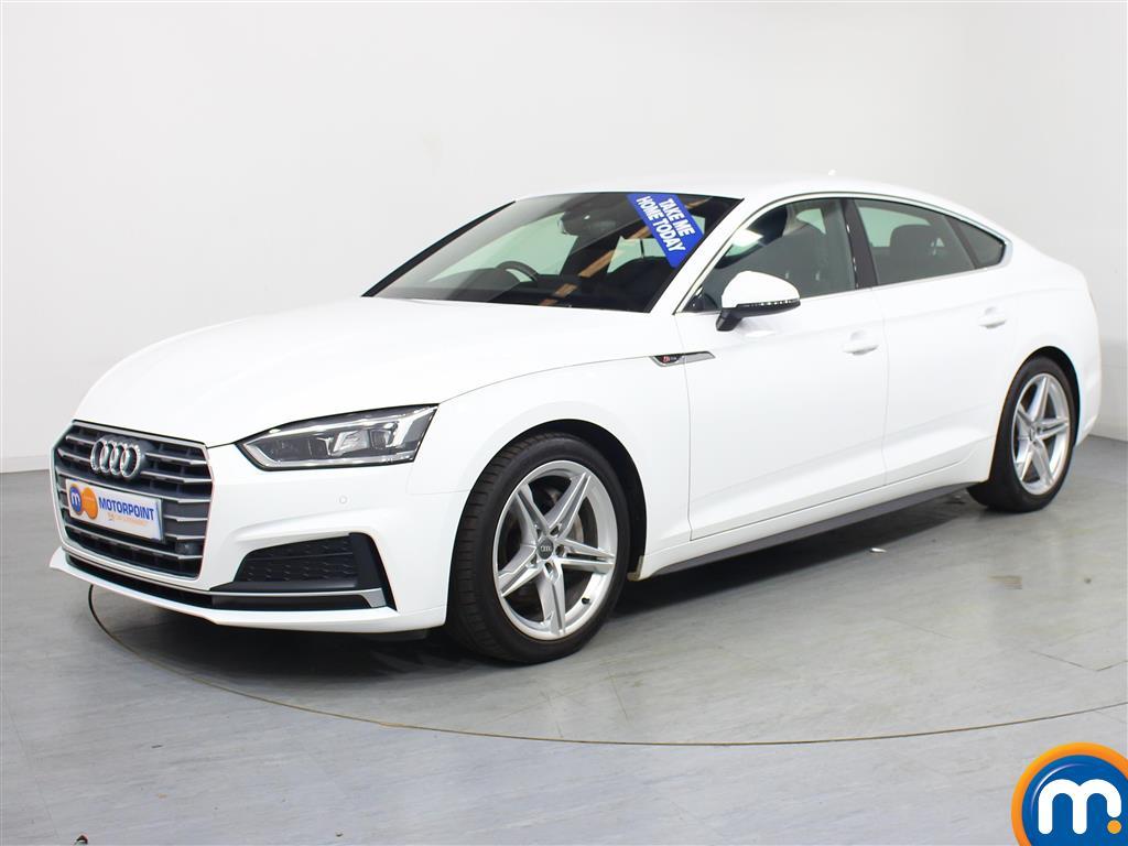 Audi A5 S Line - Stock Number 1019691 Passenger side front corner