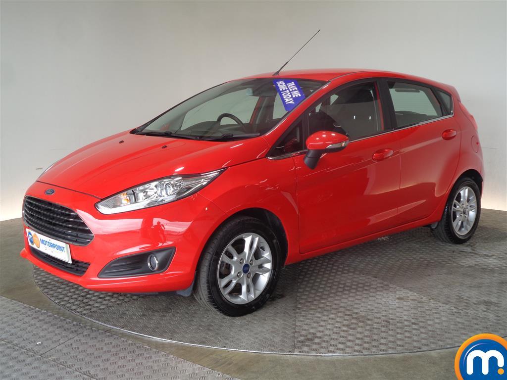 Ford Fiesta Zetec - Stock Number 1023578 Passenger side front corner